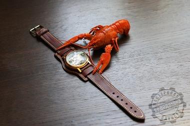 Ремешок для часов, Самоделки, craft, hand_made, handmade , leathertooling, thegrainsideup , leathercraft, leatherwork