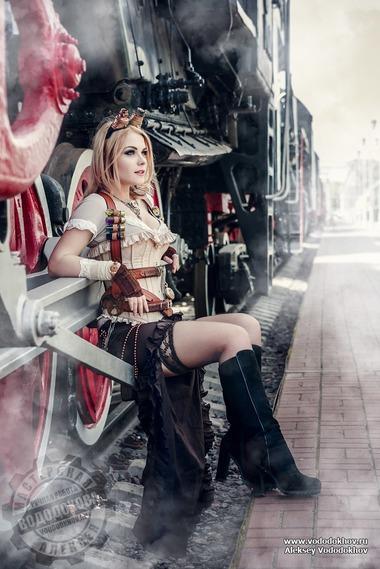 Steampunk Irina Mayer (Captain Irachka)