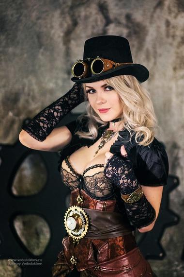 captain_irachka steampunkgirl