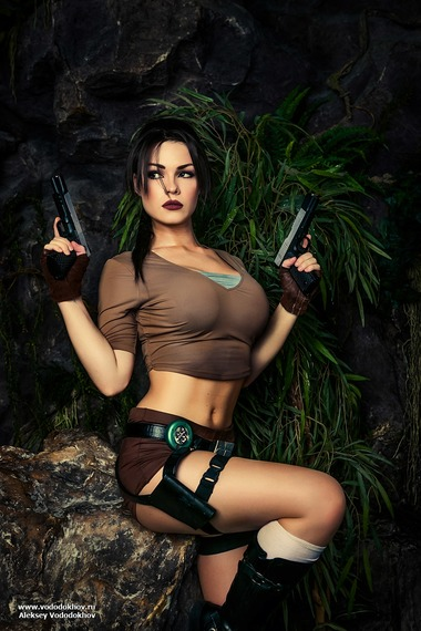 Lara Croft Cosplay captain_irachka, ирина пирожникова, Студия, captain_irachka