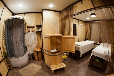 Салон тайского массажа, Интерьеры